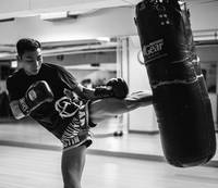 bokszak-training