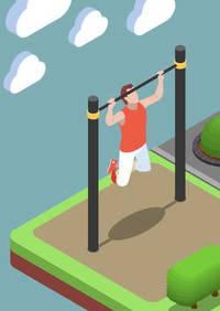 buiten-fitness-rek