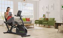 fitness-ligfiets-in-huis