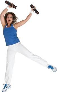 springende-en-lachende-vrouw