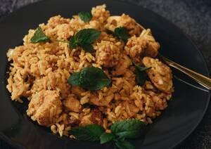 rijst-kip-gerecht