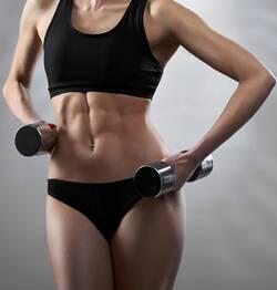 spiermassa-vrouw