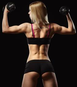 vrouw-met-spieren