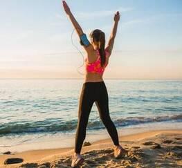 lichaam-trainen-strand