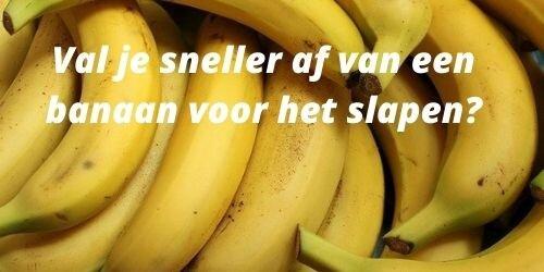 banaan-voor-het-slapen-afvallen
