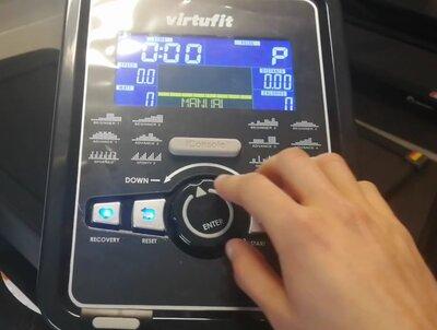 trainingscomputer virtufit ergometer 30i